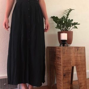 Brandy Melville Maxi Skirt with Buttons